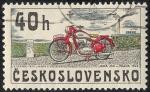 Stamps Czechoslovakia -  Transportes