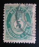 Stamps Europe - Norway -  Numeral
