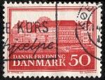 Sellos de Europa - Dinamarca -  Edificios y monumentos