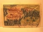 Sellos de Europa - Francia -  vittel