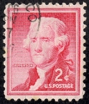 Stamps United States -  Personajes