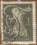 Sellos de Europa - Portugal -  IV Cent. Muerte S. JUAN DE DIOS