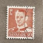 Stamps Denmark -  Rey Ferderico