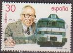 Stamps Spain -  ESPAÑA 1995 3347 Sello º Tren Talgo Alejandro Goicoechea Inventor