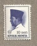Stamps Indonesia -  Presidente Sukarno