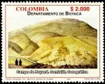 Sellos de America - Colombia -  EMISIÓN POSTAL DEPARTAMENTOS DE COLOMBIA - BOYACÁ