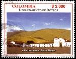 Sellos del Mundo : America : Colombia : EMISIÓN POSTAL DEPARTAMENTOS DE COLOMBIA - BOYACÁ