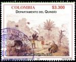 Sellos de America - Colombia -  EMISIÓN POSTAL DEPARTAMENTOS DE COLOMBIA - QUINDÍO
