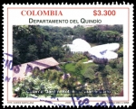 Sellos del Mundo : America : Colombia : EMISIÓN POSTAL DEPARTAMENTOS DE COLOMBIA - QUINDÍO