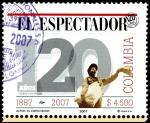 Sellos del Mundo : America : Colombia : EMISIÓN POSTAL EL ESPECTADOR 120 AÑOS