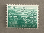 Stamps Indonesia -  Teh