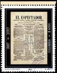Sellos de America - Colombia -  EMISIÓN POSTAL EL ESPECTADOR 120 AÑOS