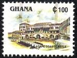 Sellos de Africa - Ghana -  Edificios y monumentos