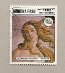 Sellos del Mundo : Africa : Burkina_Faso : Nacimiento de Venus
