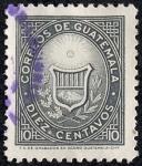 Stamps Guatemala -  Escudos