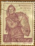 Stamps Portugal -  3er. Congreso NACIONAL DE PESCA