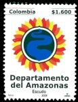 Sellos del Mundo : America : Colombia : EMISIÓN POSTAL DEPARTAMENTOS DE COLOMBIA - AMAZONAS