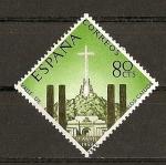 Sellos de Europa - España -  Inauguracion del Monasterio del Valle de los Caidos.