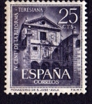 Sellos de Europa - España -  IV cent de la reforma teresiana-monasterio de st jose(avila)