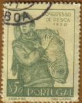 Sellos de Europa - Portugal -  3er. Congreso NACIONAL DE PESCA