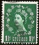 sellos de Europa - Reino Unido -  POSTAGE REVENUE - QUEEN ELIZABETH