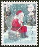 Stamps United Kingdom -  NAVIDAD - SANTA