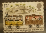 Stamps Europe - United Kingdom -  liverpool and manchester railway 1830