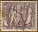 Sellos de Europa - Portugal -  25 años revolucion