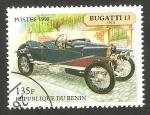 Sellos del Mundo : Africa : Benin : automóvil bugatti 13 de 1910
