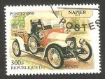 Stamps Benin -  automóvil napier 1913