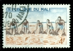 Sellos del Mundo : Africa : Mali :  Pesca