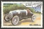 Stamps : Asia : Afghanistan :  automóvil de 1920