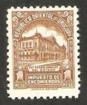 Stamps : America : Uruguay :  97 - estación de ferrocarriles del estado
