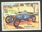 Sellos de Asia - Laos -  automóvil