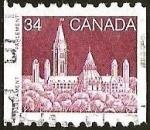 Sellos de America - Canadá -  PARLAMENTO DE ESPECTACULOS