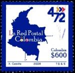 Sellos del Mundo : America : Colombia : EMISIÓN POSTAL SELLOS OPERATIVOS 4-72