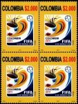 Sellos del Mundo : America : Colombia : EMISIÓN POSTAL COPA MUNDIAL SUB 20 DE LA FIFA COLOMBIA 2011