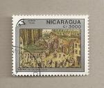 Sellos de America - Nicaragua -  Toma de la bastilla
