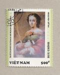 Sellos de Asia - Vietnam -  Cuadro de Murillo