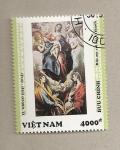 Sellos de Asia - Vietnam -  Cuadro de El Greco