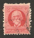 Stamps Cuba -  176 - Máximo Gómez, político