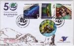 Sellos de America - Ecuador -  50 Años Parque Nacional Galapagos