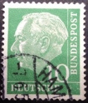 Sellos de Europa - Alemania -  Theodor Heuss (1884-1963)