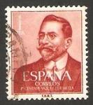 Sellos de Europa - España -  1351 - centº del nacimiento de juan vazquez de mella