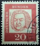 Sellos de Europa - Alemania -  Johann Sebastian Bach (1685-1750)