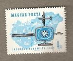Stamps Hungary -  Año turismo