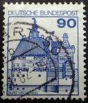 Stamps Germany -  Burg Vischering Castle