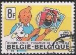 Sellos de Europa - Bélgica -  Belgica 1979 Scott 1036 Sello º Comics Tintin Filatelico 8fr Belgique Belgium