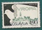 Sellos de Europa - Yugoslavia -  Conferencia sobre Seguridad en Europa - Madrid´80 - Catedral SEVILLA