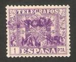 Stamps Spain -  82 - Escudo de España